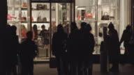 Window Shopping for Purses in Manhattan