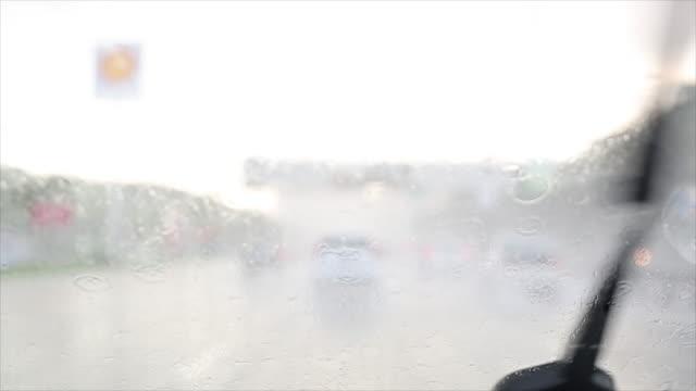 Schmeiß Windschutzscheibe Regen