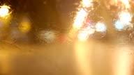 Windshield wipers and rain
