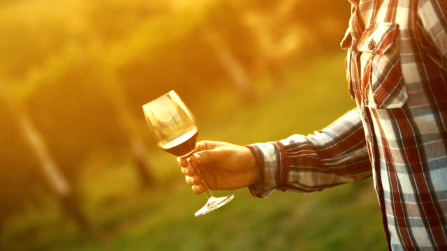 Wijnproeverij.