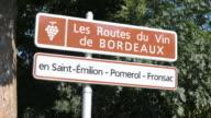 Wine-road near Bordeaux