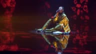 Winner of the Eurovision Song Contest 2016 Jamala performs on a stage during the final of the Ukrainian national qualification for the Eurovision...