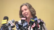 Winners of the $448 million Powerball Speak at a Press Conference Lisa Presutto Who Bought Winning Ticket Speaks Out on August 13 2013 in Ocean City...