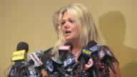Winners of the $448 million Powerball Speak at a Press Conference Sandy Victim Darlene Riccio To Start New Life on August 13 2013 in Ocean City New...