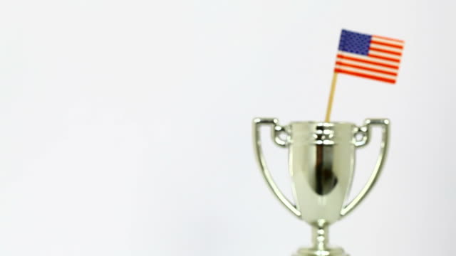 USA winning trophy