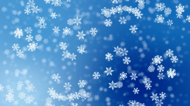 winter background loopable alpha channel stock footage