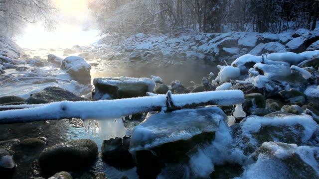 Winter-Kaskade in tirol