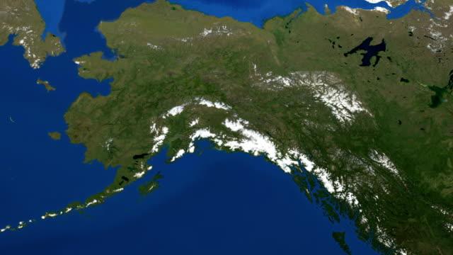 Winter comes to Alaska