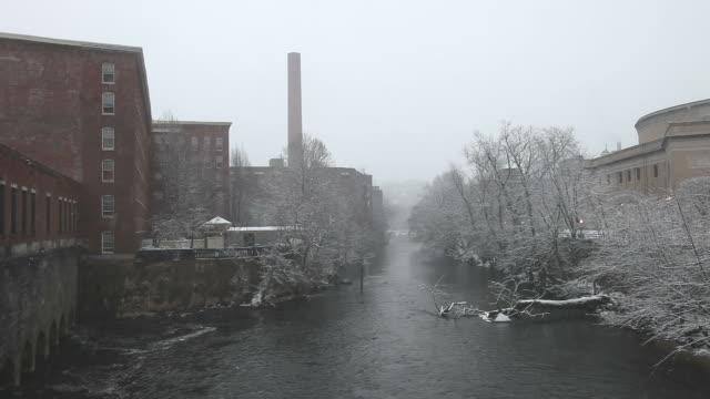 Winter in Lowell