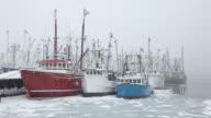 Winter in New Bedford, Massachusetts