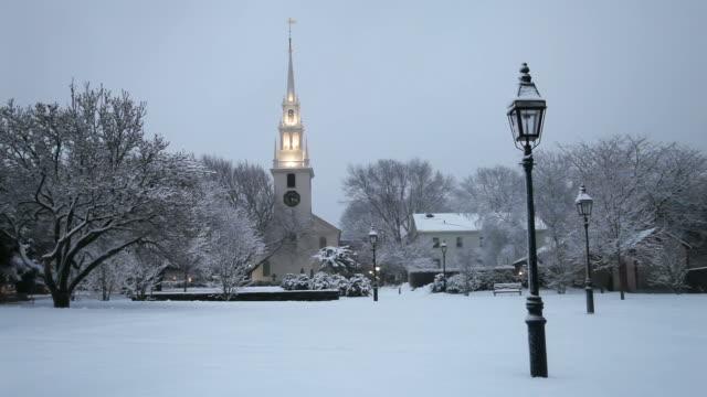 Winter in Newport