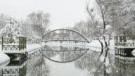 Winter Landschaft/Endlos wiederholbar