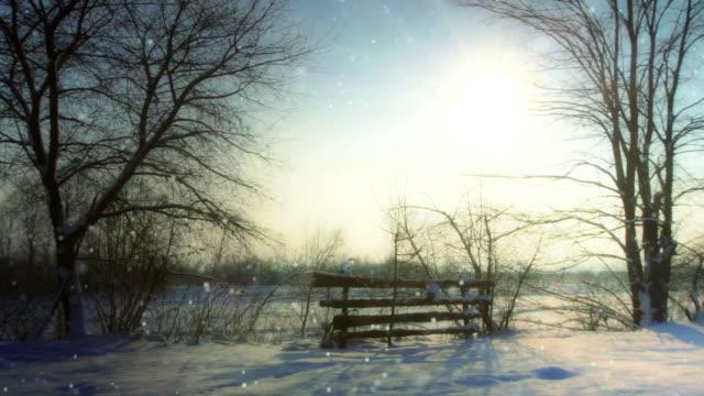 Inverno all'aperto anello
