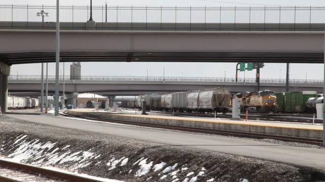 HD: Winter Rail Freight