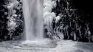 HD winter waterfall
