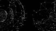 Wire node specular - black