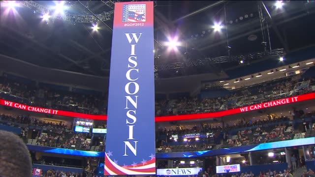 WGN Wisconsin Governor Paul Ryan officially accepts the Republican nomination for vice president on August 29 2012 in Tampa Florida