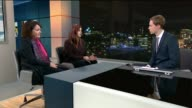 Wish Foundation centre to help teenagers that self harm opens in Merton ENGLAND London INT Isobel Pollard LIVE STUDIO interview SOT Rowena Jaber LIVE...