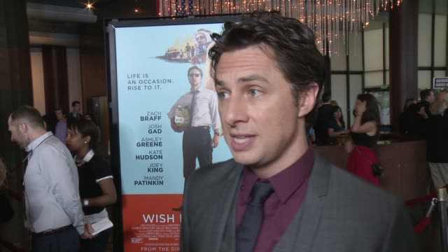 CLEAN 'Wish I Was Here' Los Angeles Premiere Presented By Focus Features in Los Angeles CA