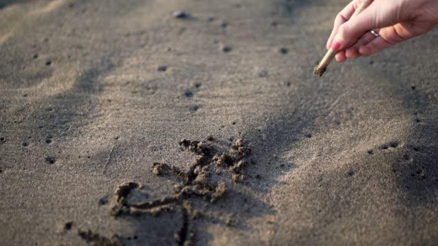 """Wish You Here were"" im Sand"