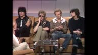 PRETENDERS with DONNIE SUTHERLAND Introduction of the band talks about song 'Brass in Pocket' albums 'Pretenders 1 and Pretenders 2 going Platinum