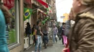 With millions of tourists visiting Brazil and the creation of 1 million jobs the World Cup has no doubt boosted the countrys economy