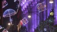 With rising unemployment static wages and high living costs in Britain retailers are hoping that a magical display of lights on London's main...