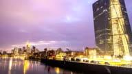 EZB with Skyline Frankfurt, Time Lapse