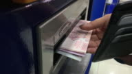 Withdraw money in ATM Automated tellers
