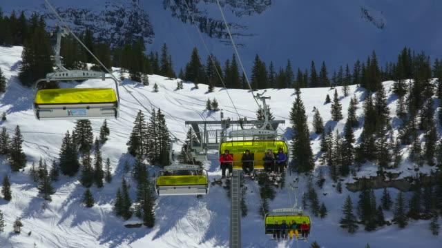 Wixi chair lift, Kleine Scheidegg, Bernese Alps, Switzerland, Europe