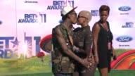 Wiz Khalifa Amber Rose at the 2011 BET Awards at Los Angeles CA