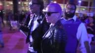 Wiz Khalifa Amber Rose depart Beyonce Mrs Carter Show Staples LA Celebrity Sightings in Los Angeles CA on 12/03/13