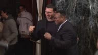 Wladimir Klitschko and Larry Holmes at the 'Lights Out' New York Premiere at New York NY