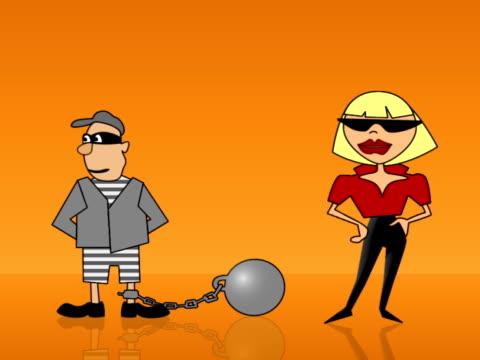 Woman and Prisoner