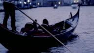 Woman enjoys a trip on a gondola
