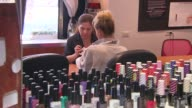 Woman Gets a Manicure at Serenity Spa on August 29 2013 in Paramus New Jersey