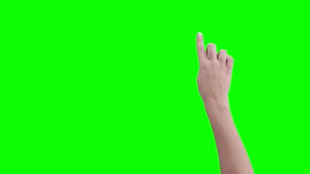 Frau hand Geste
