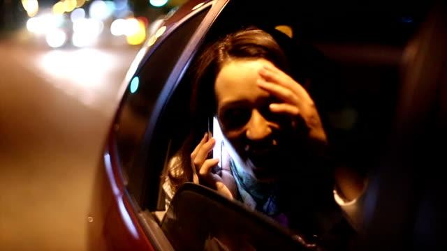 Kvinna i bilen