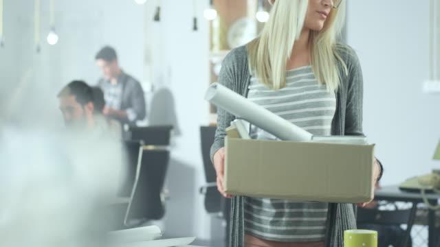 Woman Lost His Job