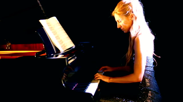 Image result for blonde piano player