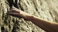 CU PAN TU Woman rock climbing on cliff, Squamish, British Columbia, Canada
