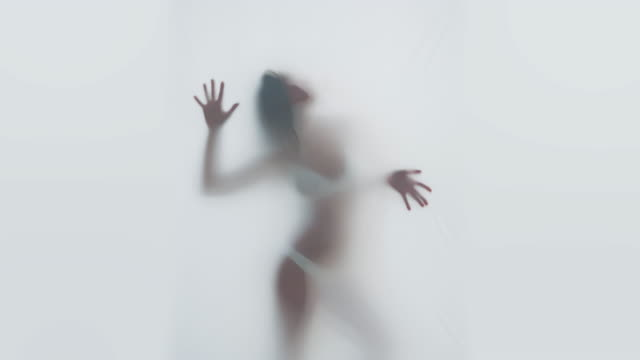 Silhouet van de vrouw