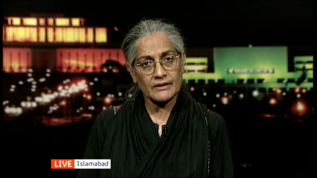 Woman stoned to death in Lahore 'honour killing' ENGLAND London GIR INT Tahira Abdullah LIVE interview from Islamabad SOT