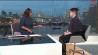 Woman turned away from interview with Boots due to how she was dressed ENGLAND London GIR INT Rosie Reilly LIVE STUDIO interview SOT