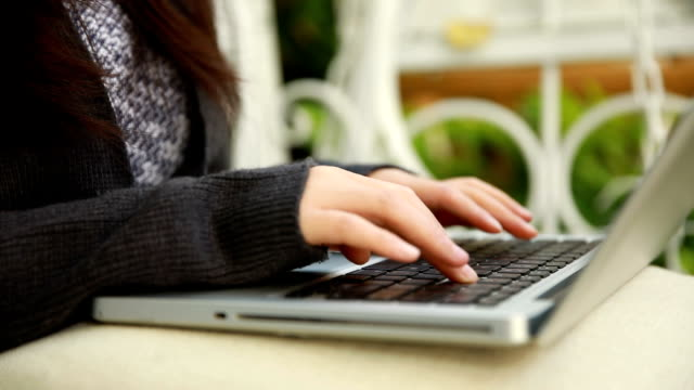 woman using laptop,working at home
