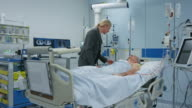 DS Woman visiting her husband on the ICU