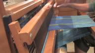 HD Woman Weaving With Loom 1