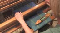 HD Woman Weaving With Loom 3