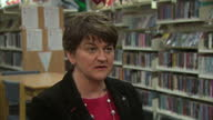 A woman who survived an IRA bombing is set to share power with Martin McGuinness Arlene Foster has been elected as the new leader of the Democratic...
