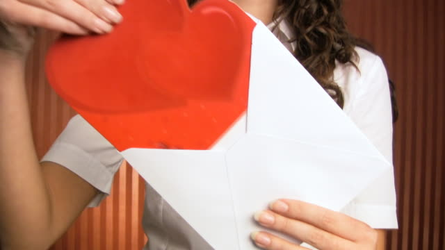 HD: Woman With Love Letter